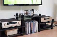 Accuphase. Audio Rack, Hi End, High End Audio, Home Cinemas, Audio Equipment, Audio System, Audiophile, Home Theater, Turntable
