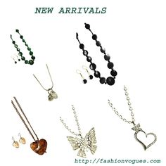 New arrivals in fashion vogues. Select the best one among these jewelry for personality improvement. http://tinyurl.com/kbncfa7