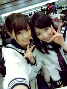 乃木坂46 (nogizaka46)  Nishino Nanase (西野七瀬)  Takayama Kazumi (高山一実)