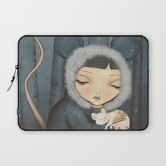 The little Mouse Princess Laptop Sleeve