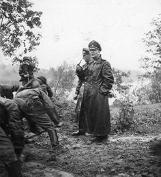 Theodor Eicke and SS Division Totenkopf on the Eastern Front in 1941.