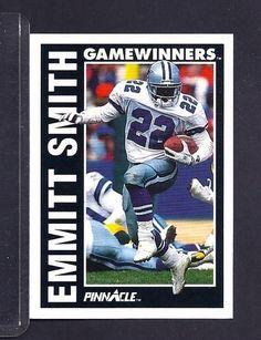 EMMITT SMITH 1991 PINNACLE VINTAGE FOOTBALL