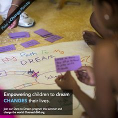 This summer we're empowering children in Nicaragua and the Dominican Republic to dream big!