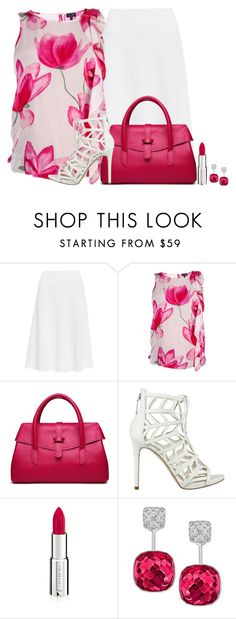 """Untitled #2773"" by nefertiti1373 ❤ liked on Polyvore featuring NIC+ZOE, Armani Jeans, GUESS, Givenchy and Swarovski"