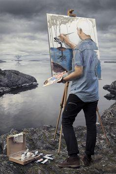 Erik Johansson - Dal reale al surreale passando da photoshop