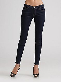 7 For All Mankind The Skinny Jeans - for my skinny minnie!