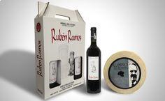 Estuche de 3 botellas Rubén Ramos 2010 Roble, D.O. Ribera del Duero Tempranillo 100% y Queso Camino de la Ermita a partir de €43,10