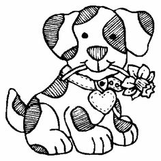 Possible Applique For Puppy Dog Quilt