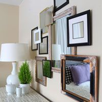 How I Hang Wall Art and Mirrors Instantly