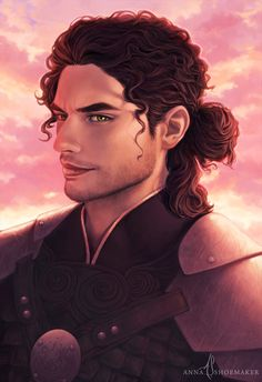 The move (and those curls) slowed me down a bit, but Cassian is finished!