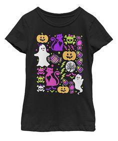 a2de57cda9a Black Halloween Characters Tee - Toddler Toddler Girl Halloween
