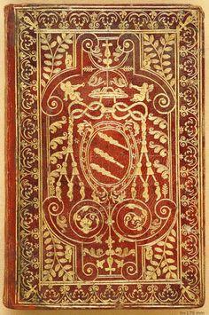 Legatura romana in piena pelle risalente al primo quarto del secolo XVII [copyright Biblioteca Nazionale Braidense]