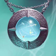 amulette elementaire by naiiade.deviantart.com on @deviantART