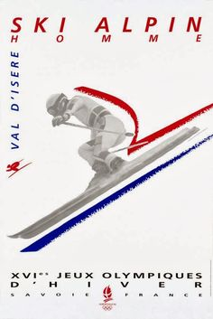 Winter Olympics 1992: Albertville, France   Artists: Desgrippes & Associés