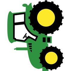 Tractor Coloring Pages, Free Applique Patterns, Farm Quilt, Tractor Birthday, Cars Birthday Parties, Monogram Decal, Farm Party, John Deere Tractors, Lalaloopsy