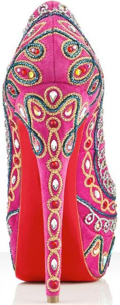 ❦ Pink! Louboutin Bollywood Fever