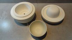 modelo y molde para ceramica utilitaria
