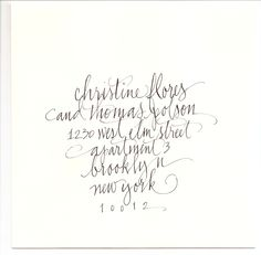 calligraphy by Jean Wilson