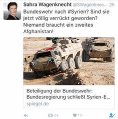 DERUWA: Bundeswehr soll nach Syrien!
