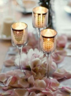 Wedding Candle Decorations | Weddings Romantique