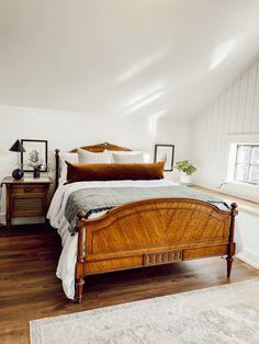 Bedroom Retreat, Home Bedroom, Home Living Room, Bedroom Ideas, Master Bedroom, Farmhouse Living Room Furniture, Bedroom Furniture, Home Furniture, Farmhouse Bedrooms