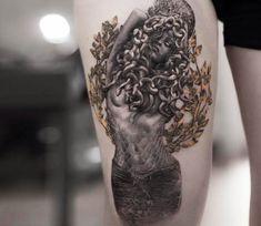 Medusa tattoo by Niki Norberg