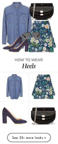 """""""Untitled #2429"""" by erinforde on Polyvore featuring Topshop, Thurley…"""