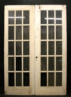 57x82 Pair Antique French Double Doors By PennAntiqueRestore, $374.99