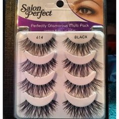 53422e96864 Salon Perfect 614 Lashes Salon Perfect 614 Lashes, Drugstore Makeup, Eye  Makeup, Makeup