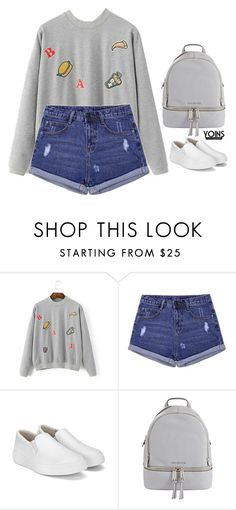 """Yoins 5.26"" by emilypondng ❤ liked on Polyvore featuring MICHAEL Michael Kors, yoins, yoinscollection and loveyoins"