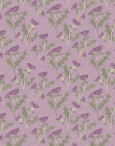 A Walk In The Glen Thistle Lilac - Main - 103280
