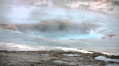 """ICELAND's geyser Strokkur erupts. (I bet that's spectacular in real life!) The word geysir is derived from the verb geysa, """"to gush"""", from Old Norse. 85% of total energy supply in Iceland is derived from domestically produced renewable energy sources (so cool). Geothermal energy provide 65% of energy, hydropower 20%, and fossil fuels (mainly oil products for the transport sector) 15%. Iceland is also a producer of wind energy. 85% of all houses in Iceland are heated with geothermal energy!"""