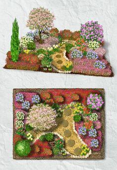 Azaleengarten Alle Pflanzen des Azaleengartens sind gleichsam auf ein saures Bodensubstrat angewiesen. Der Boden sollte locker und humusreich sein und muss in der Regel mit Rindenmulch und Kompost aufgebessert werden. Sind die richtigen Voraussetzungen geschaffen, sorgen die Rhododendren und Azaleen zwischen März und Juni für eine leuchtende und einzigartige Blütenpracht. Heidepflanzen sorgen für einen alljährlichen Blühaspekt.