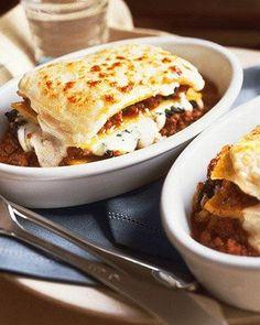 Polenta Lasagna Recipe-sounds like ultimate comfort food