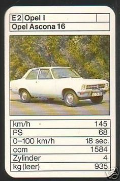 Car Card, Top Trumps, Cars And Motorcycles, Hot Wheels, Classic Cars, Automobile, Nostalgia, German, Vehicles