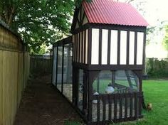 swingset chicken coop - Google Search