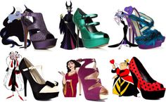 Disney Villains Heels <3
