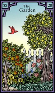 The Garden for the Burning Serpent Oracle, Robert M Place