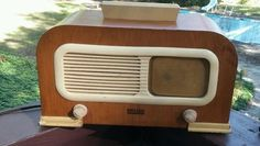 1942 WW2 Philco Model PT95 Transitone Tube Radio - Parts or Repair #Philco