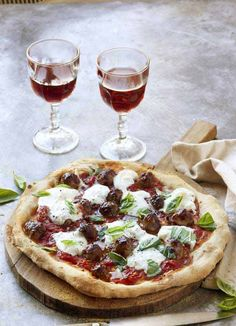 ... bread pizza pizza flatbreads # pizza # hleb panni erős food good