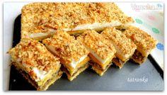 Jablkový linzer s makom a orechovou krustou - Recept