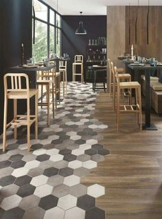 Gorgeous flooring combo