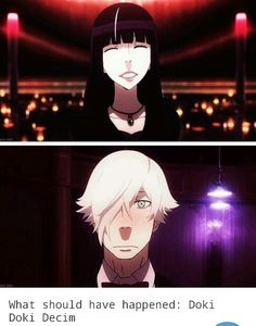 What shoudlve happened: Death parade.