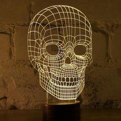 BULBING - #Skull Lamp