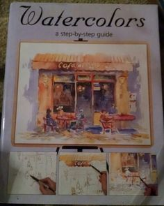 Taylor, Watercolors, a step by step guide, art, painting, drawing, water colors, schoolage, how-to