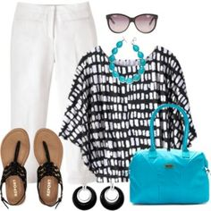 Plus Size Summer Time Outfit