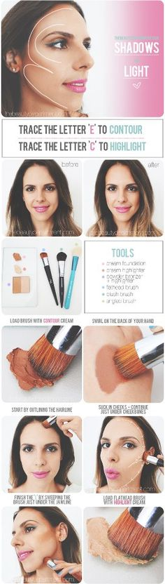 #makeup #hot #to #step #by #step #eyes #lips #highlight #foundation #routine #tips #beauty #lessons