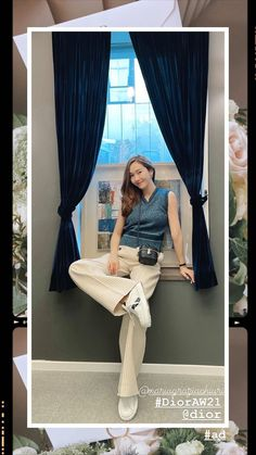 Jessica Jung Fashion, Jessica & Krystal, Beautiful Asian Girls, Snsd, Girls Generation, Everyday Outfits, Instagram Story, Style Icons, Harem Pants
