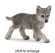 Papo - Wolf Cub - click to enlarge 2