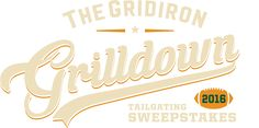 Enter the Gridiron Grilldown Sweepstakes